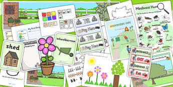 Parks and Gardens Lesson Plan, Enhancement Ideas and Resource Teaching Pack