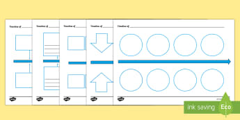 Blank Timeline Template  - Twinkl Teacher Requests, research, significant individual, chronological, order events, worksheets