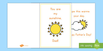 Father's Day Cards - Father's Day for Early Childhood, Father's Day Pre-K, Father's Day preschool, Father's Day activ