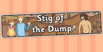 Stig of the Dump Display Banner - stig, display banner, banner