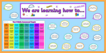 Year 6 Maths Target Display Pack - year 6, maths, maths display