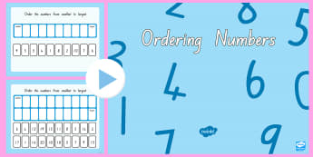 Ordering Numbers 0-10 and 0-20 Flipchart - New Zealand, maths, number ordering, numbers to 10, numbers to 20, Years 1-3, number recognition