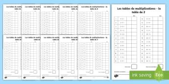 Pack d'évaluation : Evaluations sur les multiplications et divisions  - mathématiques, multiplications, CE1, CE2, CM1, CM2, multiples, divisions, calcul, maths, cycle 3, c