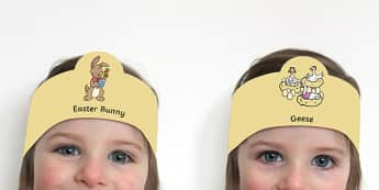 Saving Easter Role Play Headbands - saving easter, easter, easter bunny, roleplay