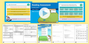 Year 3 Term 1 Poetry Reading Assessment Guided Lesson Teaching Pack - Year 3, Reading Assessment Guided Lesson PowerPoints, KS2, reading, read, assessment, guided, guidan