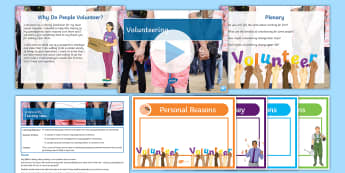 Volunteering Lesson Pack - rights, responsibilities, legal rights, moral rights, legal responsibilities, moral responsibilities