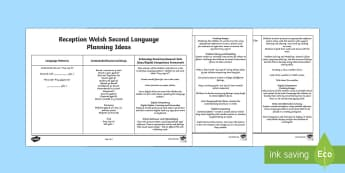 Nursery/Reception Welsh Second Language Planning Ideas - Back to school resources, Wales. Welsh, Welsh Planning, Planning, Welsh Second Language, Songs, Digi