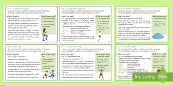 Warm-Up Cards  - tig, beans, cardio, starter, student led, cones, bibs, running