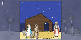 Make Your Own Nativity Scene - design, nativity, nativity scene