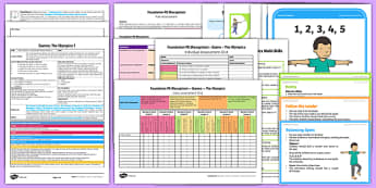 Foundation PE (Reception) - Games - The Olympics Lesson Pack 7: Mini Olympics - EYFS, PE, Physical Development, Planning