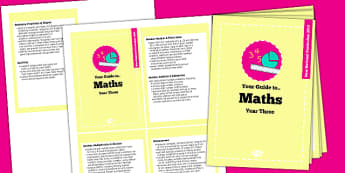 2014 Curriculum Cards Year 3 Maths - new curriculum, planning