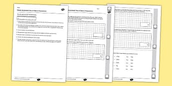 Year 6 Maths Assessment Term 2 Measurement - Key Stage 2, KS2, Maths, assessment, measurement, reasoning