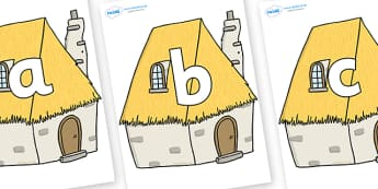 Phoneme Set on Cottage - Phoneme set, phonemes, phoneme, Letters and Sounds, DfES, display, Phase 1, Phase 2, Phase 3, Phase 5, Foundation, Literacy