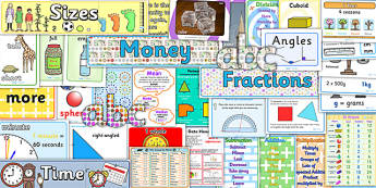 KS2 Maths Display Pack - KS2, maths, maths display, numeracy