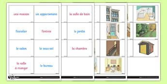 Home Games Cards French - french, home, houses and homes, house, game cards, game, cards