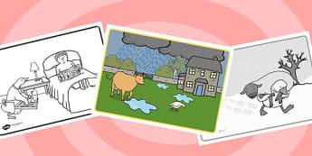 Farmer Duck Story Sequencing - farmer duck, story sequencing, story, story ordering, story sheets, farmer duck worksheets, themed story sequencing