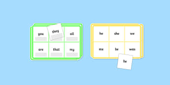 Phase 3 High Frequency Word Bingo - HFW, Word Bingo, Phase 3, Phase three, Foundation bingo, High Frequency Words, Letters and Sounds, DfES Letters and Sounds