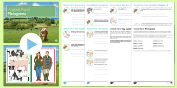 Animal Farm Key Quotations Pack - Animal Farm, quotations