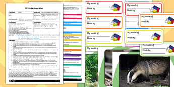 Fruit and Vegetable Animal Modelling EYFS Adult Input Plan And Resource Pack
