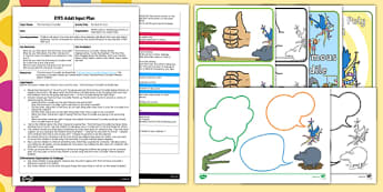 EYFS Be Nice, Mr Croc Adult Input Plan and Resource Pack to Support Teaching on The Enormous Crocodile