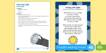 Secret Spy Light Busy Bag Resource Pack for Parents - Light and Dark, mark making, writing, early writing, pre-writing, spies, spy, secret