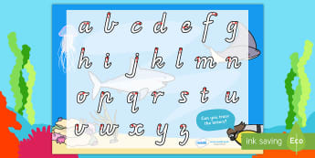 Australia Under the Sea Themed Letter Writing Activity Sheet - Australia Under the Sea Themed Letter Writing Worksheet - under thee sea, letter writing, writing wo
