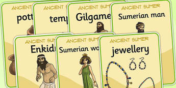 Ancient Sumer Display Posters - sumer, ancient, history, posters