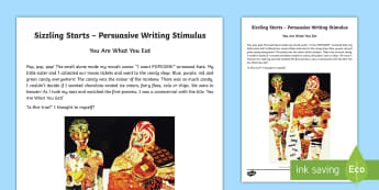 Sizzling Starts Persuasive Writing Stimulus Picture - Sizzing Starts, Persuasive Writing, creative writing, Australian writing, writing prompts, Australia