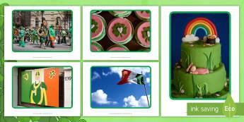 St. Patrick's Day Display Photos - EYFS, Early Years, St Patrick's Day, St Patrick, parade, celebration, festival, Ireland, Irish, sha