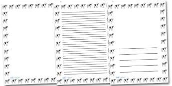 Cow Portrait Page Borders- Portrait Page Borders - Page border, border, writing template, writing aid, writing frame, a4 border, template, templates, landscape