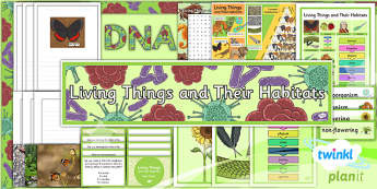 PlanIt - Science Year 6 - Living Things and Their Habitats Unit Additional Resources - planit, science, year 6, living things and their habitats, additional resources