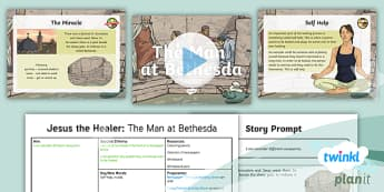 PlanIt - RE Year 5 - Jesus the Healer Lesson 3: The Man at Bethesda Lesson Pack - self-help, invalid