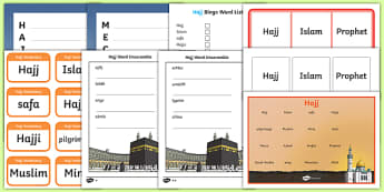 Hajj KS2  Activity Pack