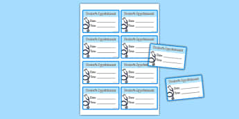 Doctor's Surgery Appointment Cards - doctors surgery, appointment cards, appointment, cards