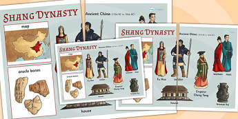 The-Shang Dynasty Large Display Poster - shang dynasty, china