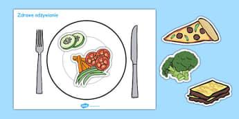 Zdrowe odżywianie po polsku - jedzenie, posiłki