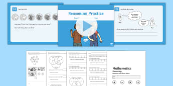 Year 1 and 2 Number and Place Value Reasoning Practice Assessment Pack - place value, year 1, year 2, number value.,Australia, problem solving,