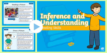 Year 1 Summer Term Inference and Understanding Reading Skills PowerPoint - Infer, Thinking, Deduction, Starter, Filler, Warm-Up,