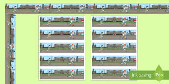 The London Marathon Display Borders - london marathon, running, race, charity, fun run, fun runners,