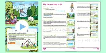 All About May Day Assembly Pack - May Day, may day, KS1, KS2, Key stage one, key stage 1, key stage two, key stage 2, year 1, year one
