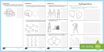 Fasching Sachaufgaben Addieren Arbeitsblatt - Karneval, Fasching,  Mathematik, 1./2. Klasse, Sachaufgaben, Rechengeschichten, Addieren,German