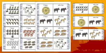 Chinese New Year Story I Have Who Has Counting Activity - I have