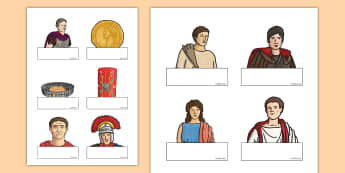 Editable Self Registation The Romans Labels - Editable Self Registration Labels (The Romans) - romans, labels, lables, self registration, order, r