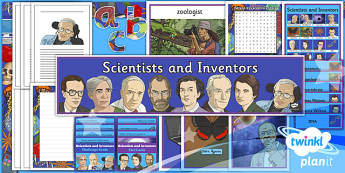 PlanIt - Science Year 6 - Scientists and Inventors Unit Additional Resources - planit, science, year 6, scientists and inventors, additional resources