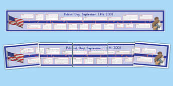 September 11th Display Timeline