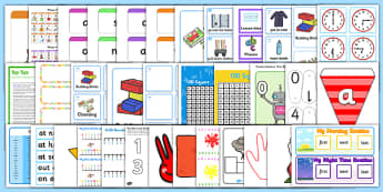 Classroom Essentials for Reception Resource Pack