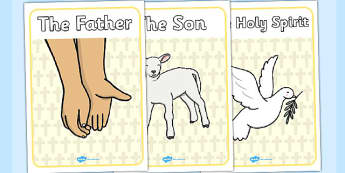 Holy Trinity Display Posters - holy trinity, display, posters