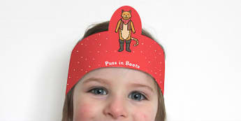 Puss in Boots Role Play Headbands - story, roleplay, stories