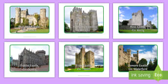 Castles of Ireland Display Photos - ROI - The World Around UsWAU, castles, malahide, blarney, kerry, cork, rock, cashel, bunratty, ross,