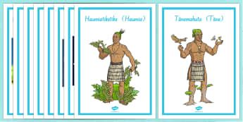 Maori Gods Display Posters - nz, new zealand, Maori Gods, posters